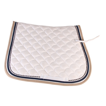 Atacadista em White Polycotton Saddle Pad
