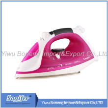 Electric Steam Iron Sf106-792 Electric Iron with Ceramic Soleplate (Purple)