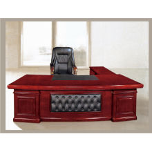 Antique executive office desk T2036 with paper veneer finished