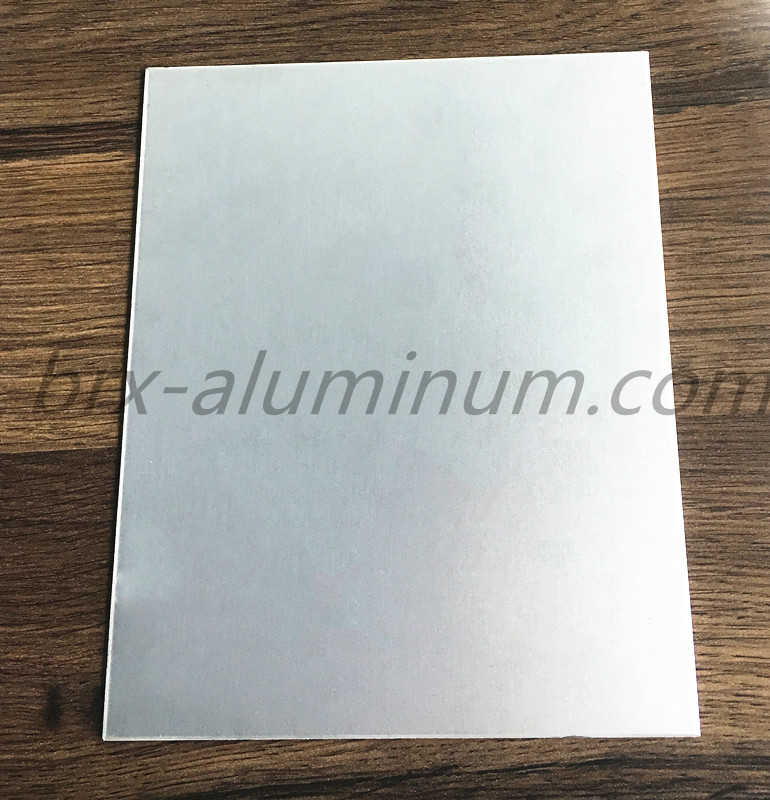 Weather resistant anodized aluminum sheet