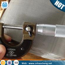 Corrosion resistance 100 mesh Nickel Molybdenum chromium alloy wire mesh