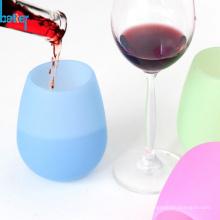 Tasse pliante en silicone de tasses pliantes de qualité alimentaire portables