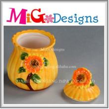 OEM Design Ceramic Container Jar for Gifts
