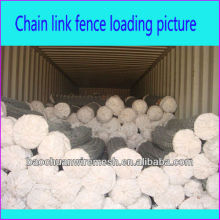 9 gauge galvanized chain link fence