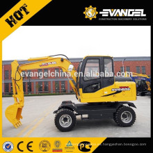 Excavadora de ruedas 6Ton WYL65 en venta