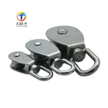 Wire Line Fixed Eye Lifting Pulley For Rope