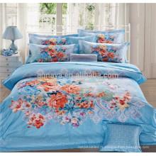 100 coton en tissu couvre couvre ensemble de couette et couvre Achetez directement depuis la Chine usine