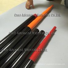 Ventana de fibra de carbono 100% postes de limpieza 40 pies