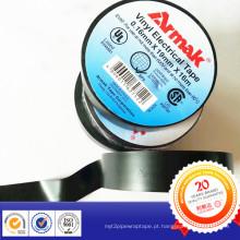 Fita da isolação do PVC do OEM do logotipo da gravação