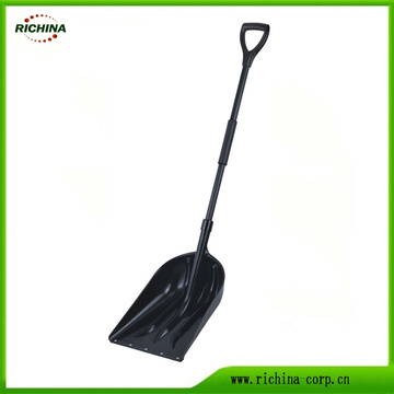 Mango de acero Poly Snow Scoop