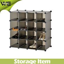 Living Room Furniture Shoe Plastic Storage Display Cabinet Design