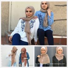 Top selling Trend women nice lifestyle stylish muslim scarf bubble hijab
