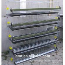 Fully automatic quail cage convenient way to clean faeces