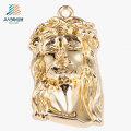 Новый дизайн сплава цинка золото на заказ Иисус Кулон из металла для подарка