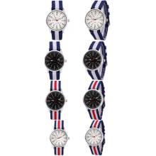 Yxl-469 Fabrik Custom Fashion Nato Band Uhr Dw Stil Nylon Armbanduhren Paar Männer Frauen Armbänder Uhr Handgelenk