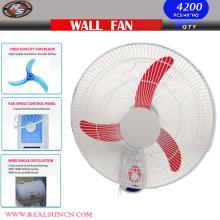 Ventilador de parede 16 polegadas com lâmina de boi vento poderoso