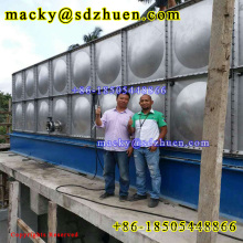 50m3 square stainless steel 304 bolted water storage tank for drinking water