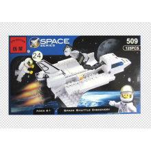 Space Series Designer Blizzard Shuttle Descubra Blocos 125PCS Brinquedos
