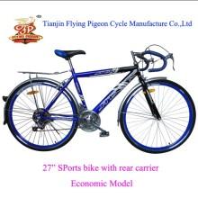 "Economic Mountain Bicycle Steel 27"" Road Bike"