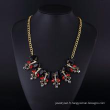 Fashion Crystal Bohemia Acryl Neckalce pour les femmes
