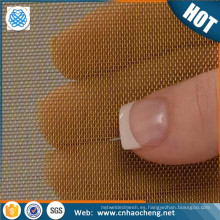 Garantía de comercio de malla de latón resistente al desgaste malla de filtro de combustible