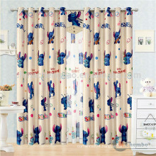 China supplier ready made cartoon patterns kids door curtains