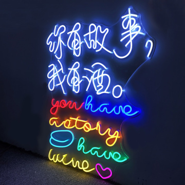 DECORACION PUB LED NEON SIGN
