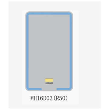 Espejo de baño LED rectangular MH16 (R50)