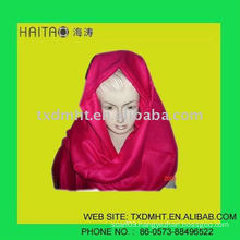 OEM 15colors ht-311 solid lady shawl