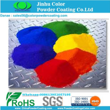Electrostatic polyester powder coating for park facility