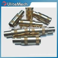Torneamento CNC de alta precisão Fabricação de metais personalizados de aço inoxidável
