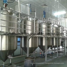 20t Canola Oil Refinery Equipment Groundnut Crude Oil Refinery Machine