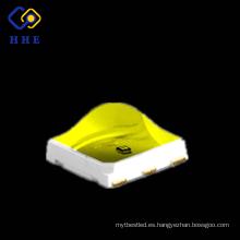 High Radiation Power 5050 SMD 1w 375 + 395 chips duales para curado UV LED