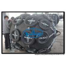 Diâmetro 1200mm x comprimento 2000mm pneumático Fender