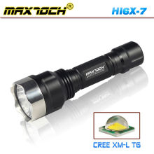 Maxtoch HI6X-7 tático lanterna de LED Cree de caça