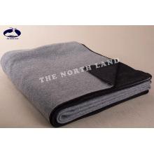 Cobertor de malha reversível de caxemira CB14092401