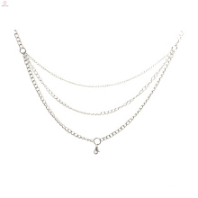 Models chains dresses, silver crafts with necklace chains jewelry