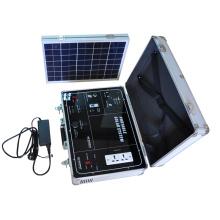 Kit de générateur de système de banque d'énergie solaire portable petit pour la maison intérieure et extérieure