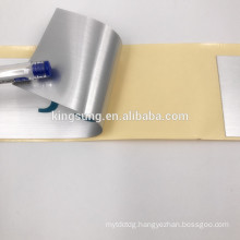 Custom Self Adhesive durable thicken bright silver dragon sticker Electrical packaging