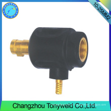 10-25mm2 tig torção de soldagem adeptor do cabo traseiro feminino
