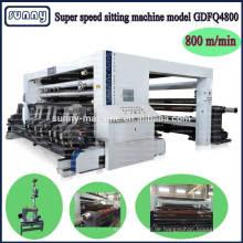 Kunststoff-Folie schneiden Maschine Hersteller CE-Zulassung