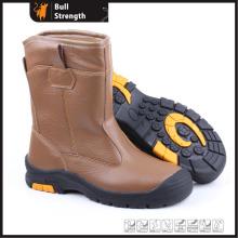 Gréeur cuir bottes de sécurité en acier d'orteil Cap (Sn5199)
