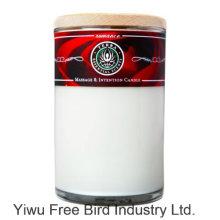 Type d'aromathérapie et matériel de cire de soja Huile de massage Bougies