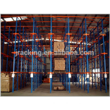Adjustable steel storage rack shelves,steel fifo storage rack cold room drive in rack