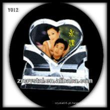 Cristal de foto colorida impressão Y012