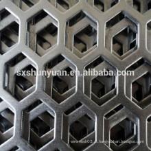 Malha de metal perfurada perfurada de alta qualidade