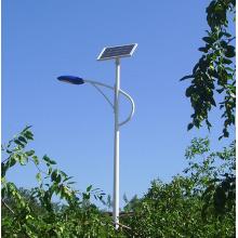Простые в установке уличные фонари на солнечных батареях