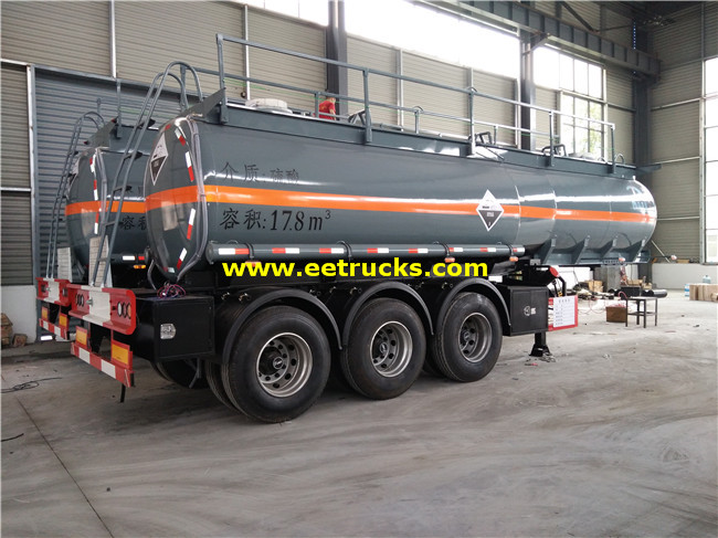 Sulfuric Acid Trailer Tanks