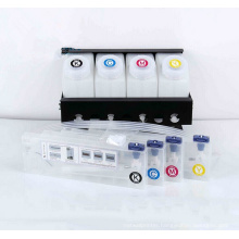 Large Format Bulk CISS Ink System for Mimaki Mutoh Roland Inkjet Printer - Continuous Ink Supply System 4 Color