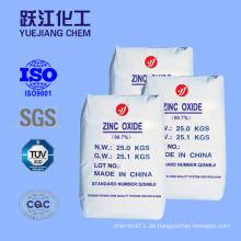 Keramik und Emaille Herstellung von Zinkoxid (99,5%)